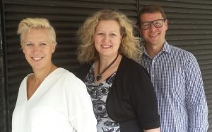 The FMCentral Team - Sarah Bentley, Karen Moule, Gavin Deane
