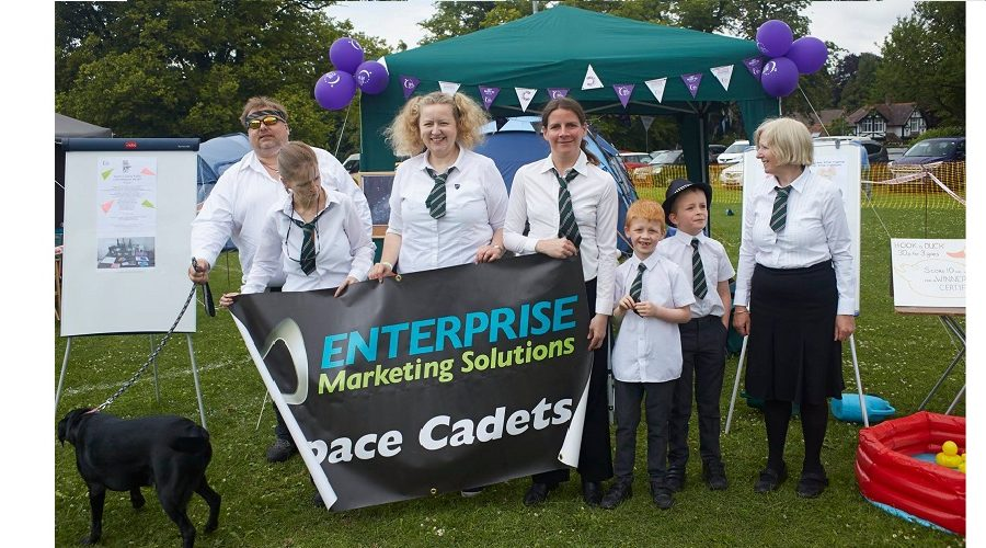 Space Cadets at Relay for Life Aylesbury 2017